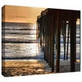 ArtWall Steven Ainsworth 'Fishing Pier' Gallery-Wrapped Canvas
