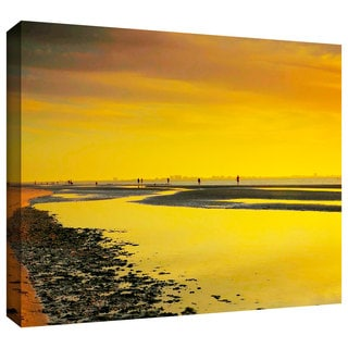 ArtWall Steven Ainsworth 'Mellow Yellow Morning' Gallery-Wrapped Canvas