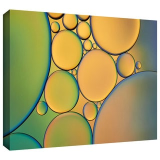 ArtWall Cora Niele 'Orange Green' Gallery-Wrapped Canvas
