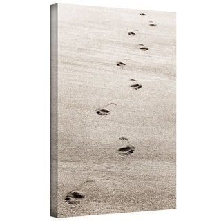 ArtWall Cora Niele 'Footprint' Gallery-Wrapped Canvas