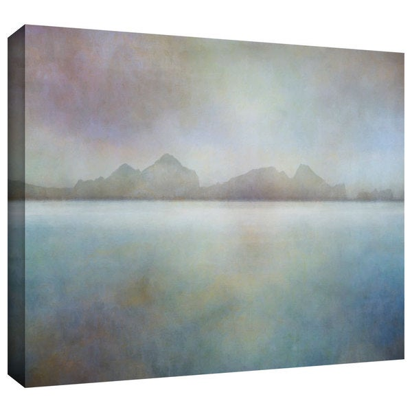 ArtWall Cora Niele 'Landscape Iceland Westman' Gallery-Wrapped Canvas