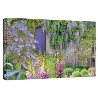 ArtWall Cora Niele 'Cottage Garden' Gallery-Wrapped Canvas