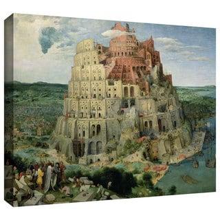 ArtWall Pieter Bruegel 'Tower of Babel' Gallery-Wrapped Canvas