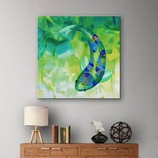 Shiela Gosselin 'Greenkoi' Gallery-wrapped Canvas