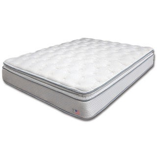 Dreamax Quilted Euro Pillow Top 11-inch Cal King-size Innerspring Mattress
