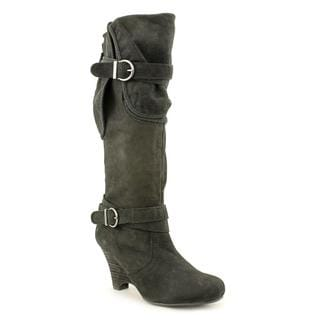 Naughty Monkey Women's 'NMW1080-001' Leather Boots