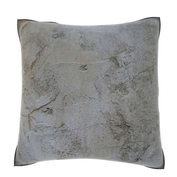 Rough Concrete Surface 18-inch Velour Throw Pillow