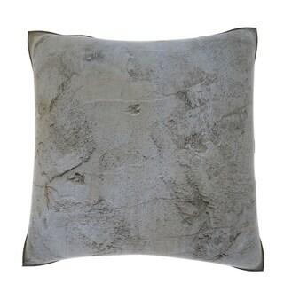 Rough Concrete Surface 18-inch Velour Throw Pillow