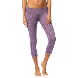 Balini Women's Yogini Purple Capri Pants