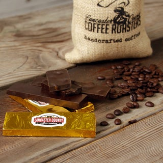 Lancaster County Coffee Roasters Starbarn Chocolate Coffee Bars (Pack of 6)