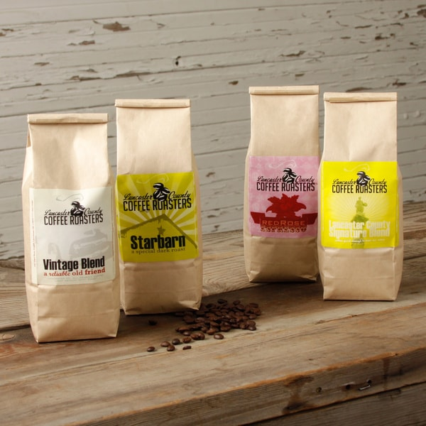 Lancaster County Roasters Coffee Sampler (Pack of 4)