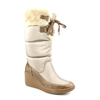 Anne Klein Sport Women's 'Rigatoni' Man-Made Boots
