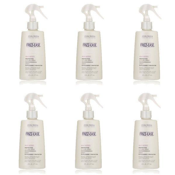 John Frieda Frizz Ease Heat Defeat 6-ounce Protective Styling Spray (Pack of 6)