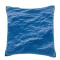 Rippled Ocean Water 18-inch Velour Throw Pillow
