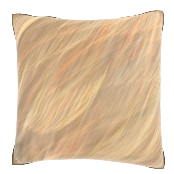 Velour Throw Pillows : Abstract Distored Effect 18-inch Velour Throw Pillow - Overstock Shopping - Great Deals on Throw ...