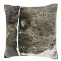 Weathered Cement Wall 18-inch Velour Throw Pillow