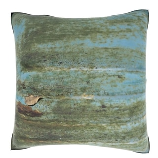 Rusted Metal Surface 18-inch Velour Throw Pillow