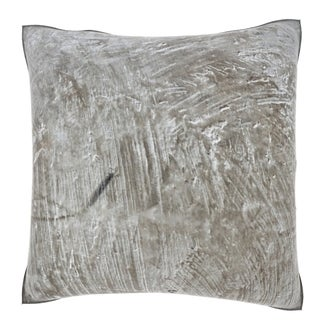 Abstract Metal Scrapes 18-inch Velour Throw Pillow
