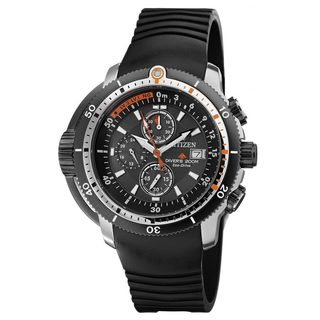 Citizen Men's Promaster Depth Black Strap Watch