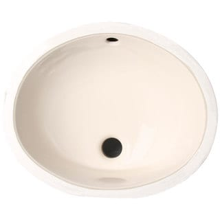 Phoenix Almond Vitreous Porcelain 15-inch Undermount Bathroom Sink
