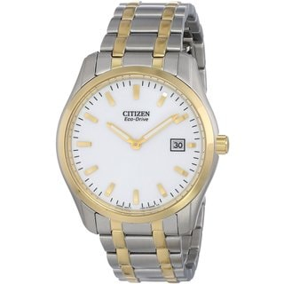 Citizen Men's Two-tone Stainless Steel Eco-Drive Watch