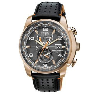 Citizen Men's Eco-Drive Chronograph Rose Goldtone Stainless Steel Watch
