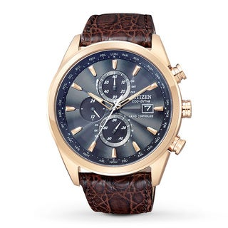 Citizen Men's Eco-Drive Blue Dial Chronograph Watch