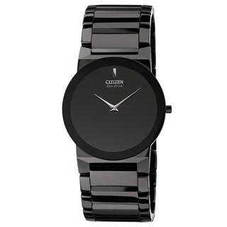 Citizen Men's AR3055-59E Eco-Drive Black Ceramic Watch