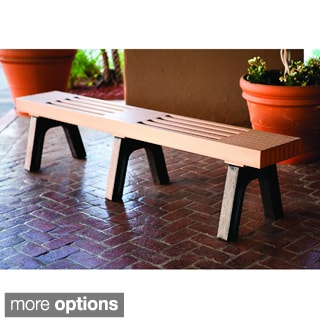 Modern 7-foot Mall Bench