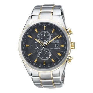 Citizen Men's Eco-Drive Two-tone Stainless Steel Chronograph Watch