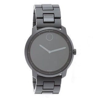 Movado Bold 3600195 Black Polyurethane and Stainless Steel Watch
