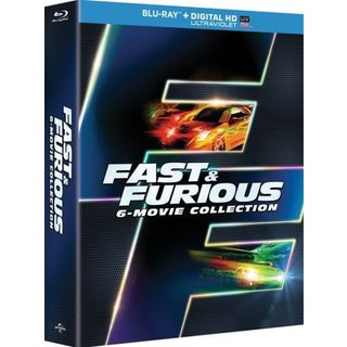 Fast & Furious 6-Movie Collection (Blu-ray Disc)