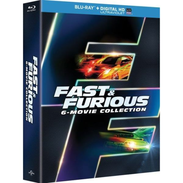 Fast & Furious 6-Movie Collection (Blu-ray Disc) 12588733