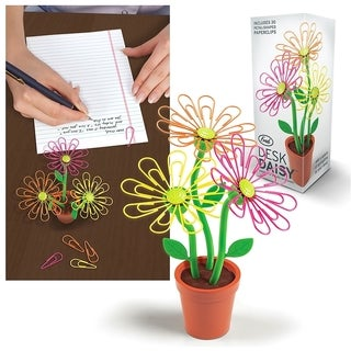 Fred & Friends Desk Daisy Paperclip Holder