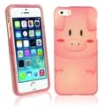 BasAcc Pon Pon Pig Rubber Coated Case for Apple� iPhone 5/ 5S