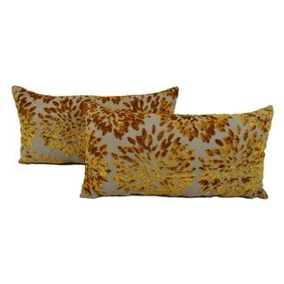Sherry Kline Margarita Gold Boudoir Pillows (Set of 2)