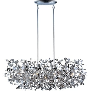 Comet 7-light Polished Chrome Island Pendant