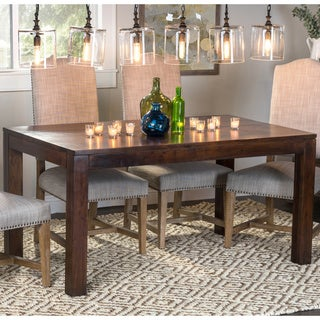 Hamshire Hand-finished 60-inch Acacia Wood Dining Table