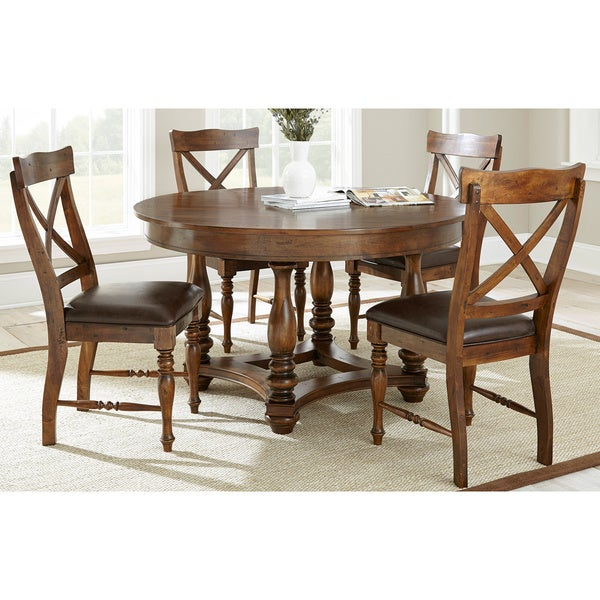 Wyatt Old World 5-piece Dining Set