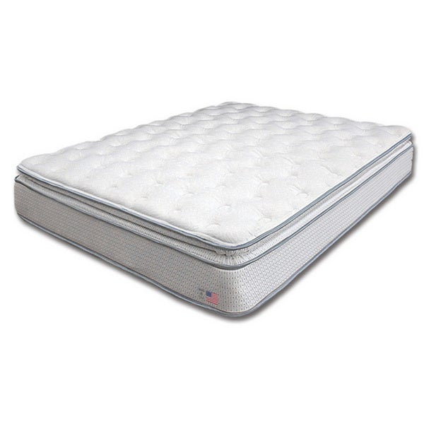 Dreamax Quilted Pillow Top 11-inch King-size Innerspring Mattress