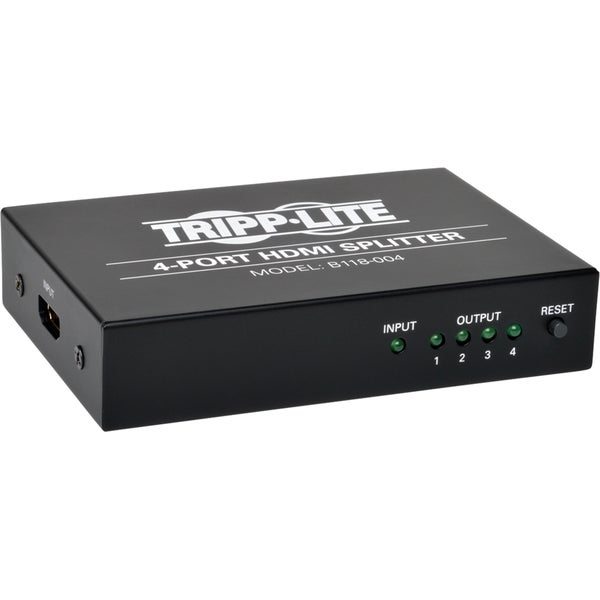 Tripp Lite 4-Port HDMI Splitter for Video and Audio