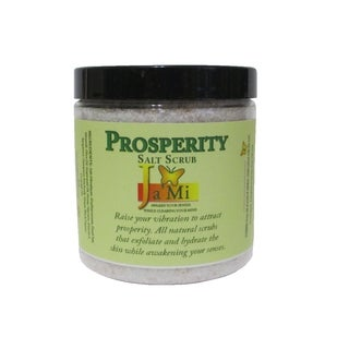 All-natural 'Prosperity' Himalayan/ Dead Sea 8-ounce Salt Scrub