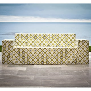 Moroccan Chartreuse Outdoor Sofa