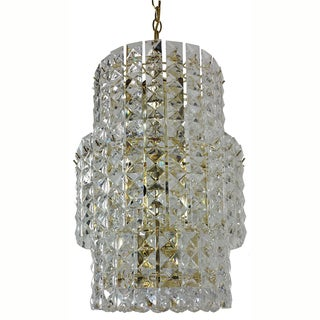 Prismatic Gem Polished Brass 11-light 3-tier Chandelier