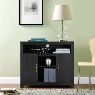 Woodland Espresso Contemporary Storage Cabinet