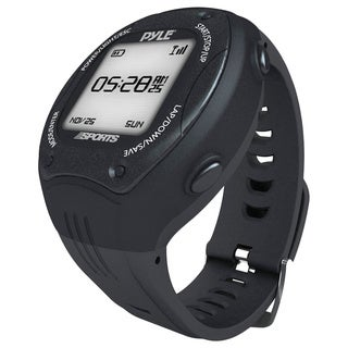 Pyle Multi-function Digital LED GPS Navigation Black Sports Training Watch