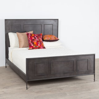 Putnam Zinc-finished Steel Queen Bed (India)