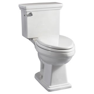 Hathaway White High-Efficiency ComfortFit ADA Toilet
