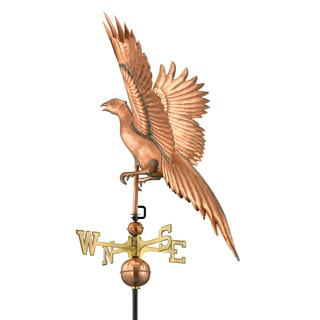 Good Directions Polished Copper Pheasant Weathervane