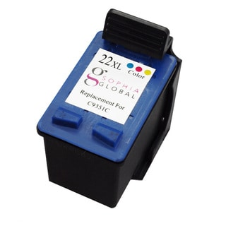 Sophia Global Remanufactured Ink Cartridge Replacement for HP 22XL (1 Color)